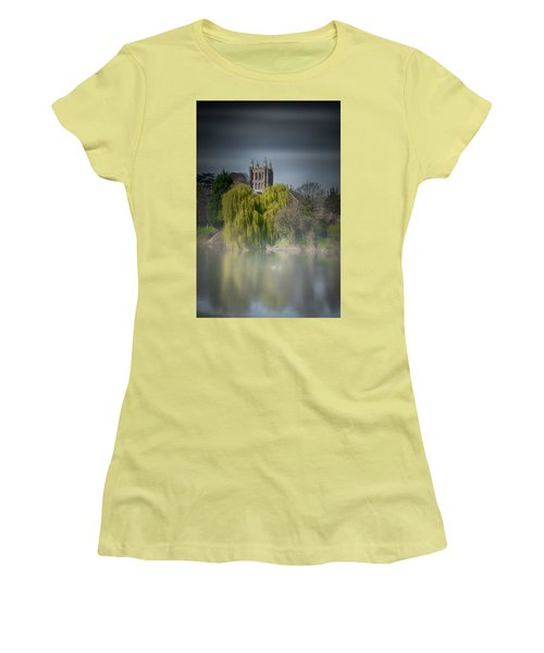 Cathedral In The Mist Women's T-Shirt (Athletic Fit)