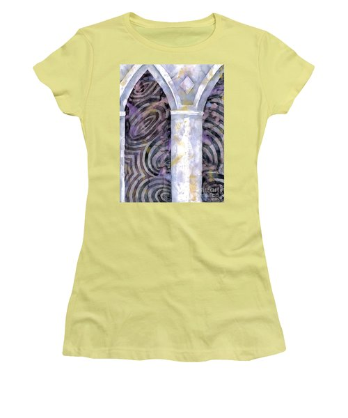 Cathedral Women's T-Shirt (Junior Cut) by Luke Galutia