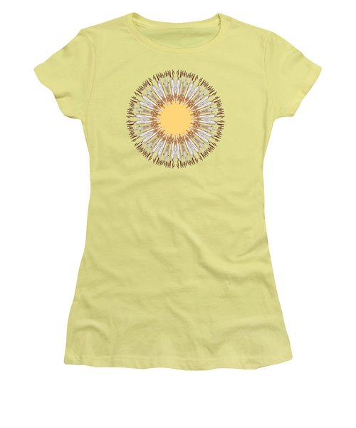Cattail Mandala - Women's T-Shirt (Athletic Fit)