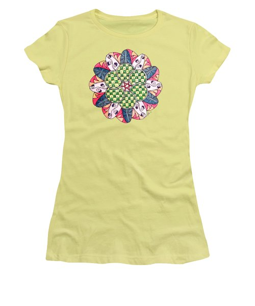 Caves Women's T-Shirt (Junior Cut) by Lori Kingston