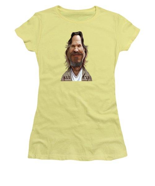 Celebrity Sunday - Jeff Bridges Women's T-Shirt (Athletic Fit)