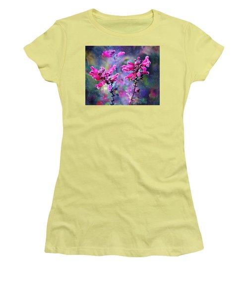 Celestial Blooms-2 Women's T-Shirt (Junior Cut) by Kathy M Krause