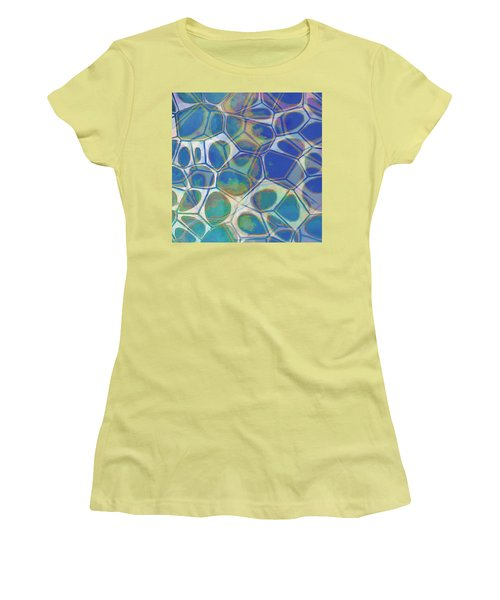Cell Abstract 13 Women's T-Shirt (Junior Cut) by Edward Fielding