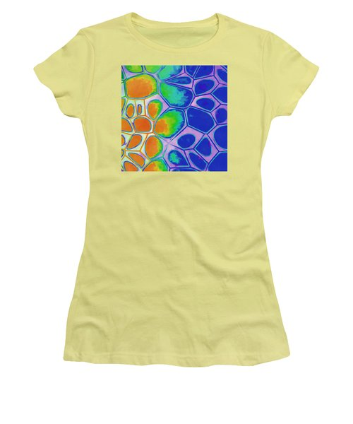 Cell Abstract 2 Women's T-Shirt (Junior Cut) by Edward Fielding