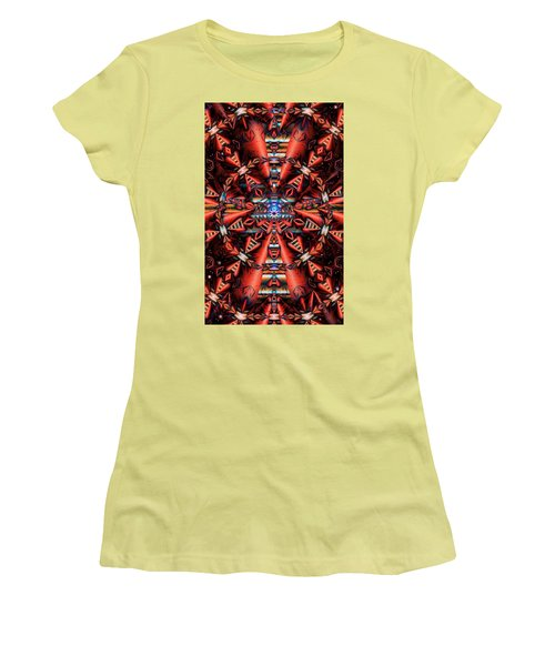 Centered Women's T-Shirt (Athletic Fit)