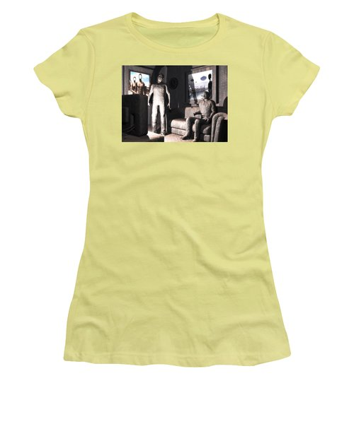 Cerebral Incinerator Women's T-Shirt (Junior Cut) by John Alexander