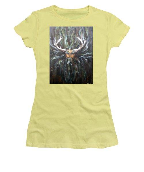 Cernunnos Women's T-Shirt (Athletic Fit)