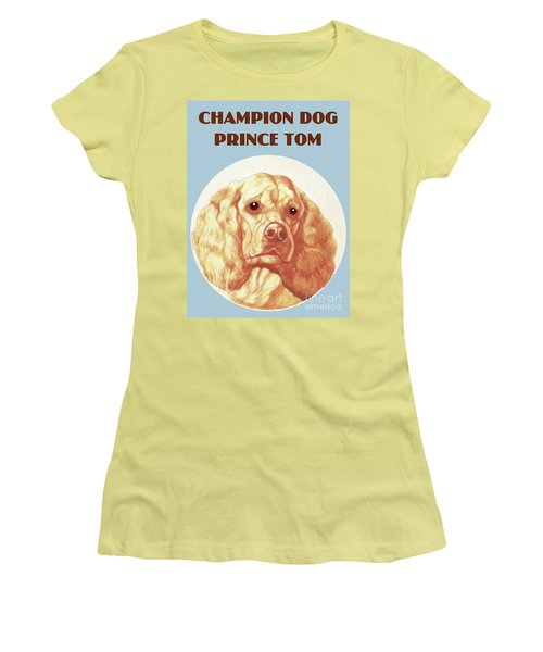 Champion Dog Prince Tom Women's T-Shirt (Athletic Fit)