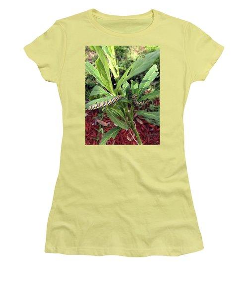 Change Is Coming Women's T-Shirt (Junior Cut) by Audrey Robillard