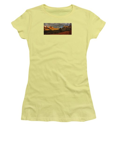 Changing Hues At Sunset Women's T-Shirt (Athletic Fit)