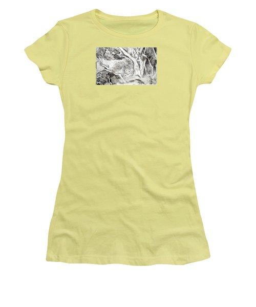 Charcoal Copse Women's T-Shirt (Athletic Fit)