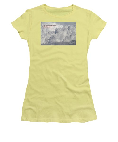 Chariot Clouds Women's T-Shirt (Athletic Fit)