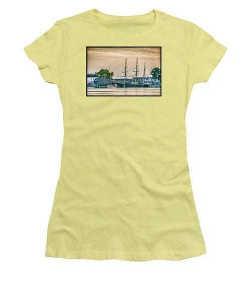 Charles W. Morgan #1 Women's T-Shirt (Athletic Fit)