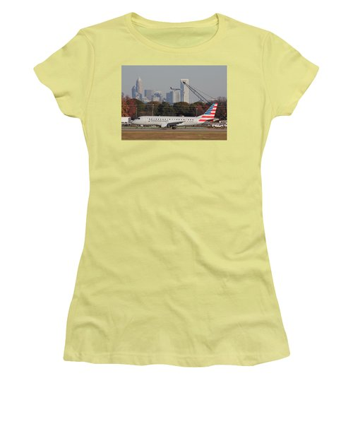 Charlotte Douglas International Airport 22 Women's T-Shirt (Athletic Fit)
