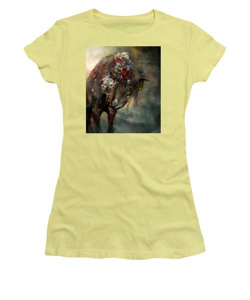Charmer  Women's T-Shirt (Junior Cut) by Dorota Kudyba