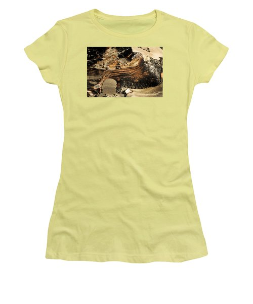 Charred Women's T-Shirt (Athletic Fit)