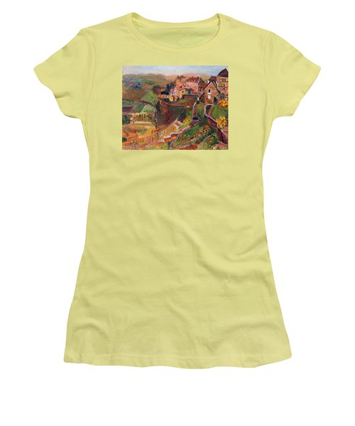 Chateau Chalon Women's T-Shirt (Athletic Fit)