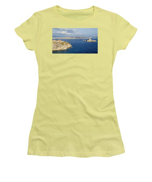 Chateau D'if-island Women's T-Shirt (Athletic Fit)