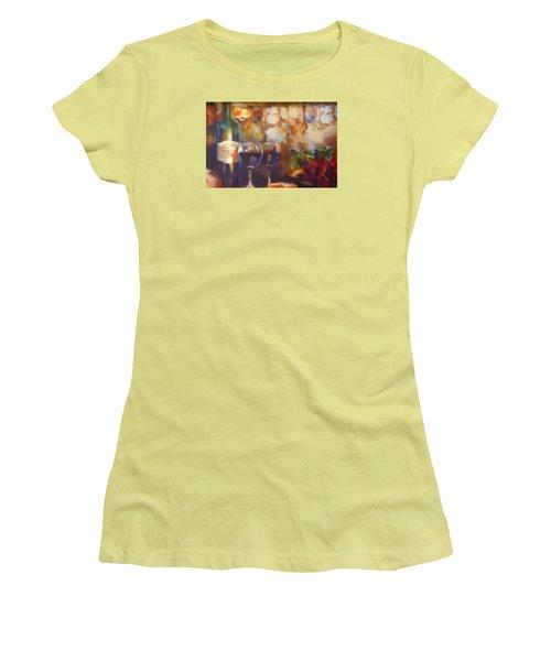 Chateau Lafite Rothschild Women's T-Shirt (Junior Cut) by David Millenheft