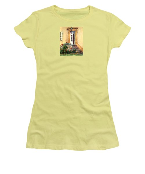 Chateau Le Pinacle Women's T-Shirt (Junior Cut) by Jill Musser