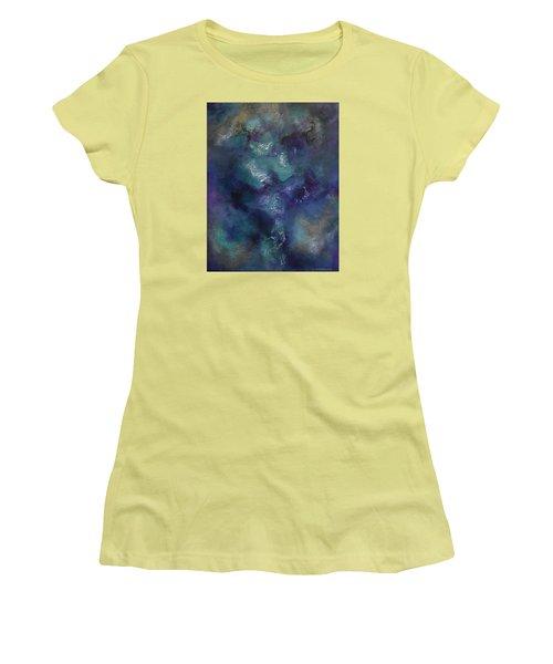 Women's T-Shirt (Junior Cut) featuring the painting Cheers by Tamara Bettencourt