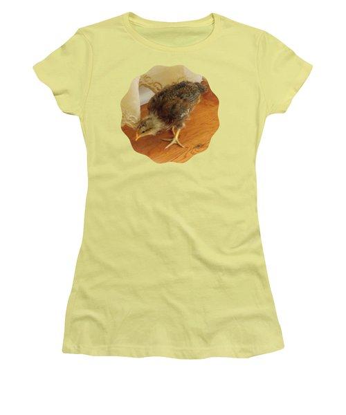 Chic Chickie Women's T-Shirt (Junior Cut) by Anita Faye