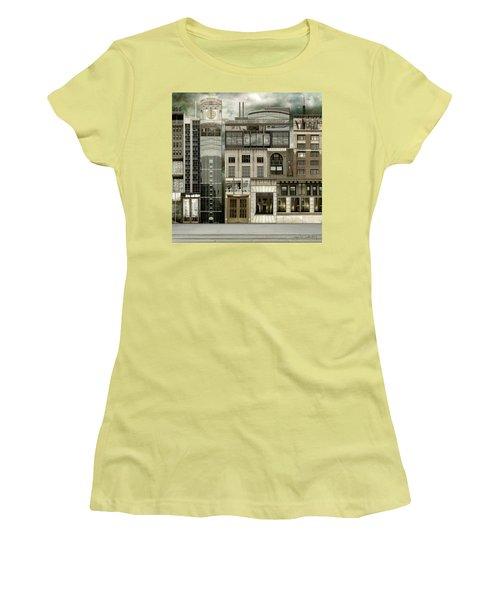 Chicago Reconstruction 2 Women's T-Shirt (Junior Cut) by Joan Ladendorf