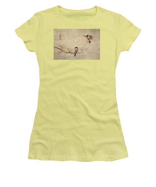 Chickadee Encounter II Women's T-Shirt (Athletic Fit)