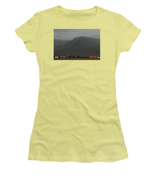 Chilean Village In Atacama Desert Women's T-Shirt (Athletic Fit)