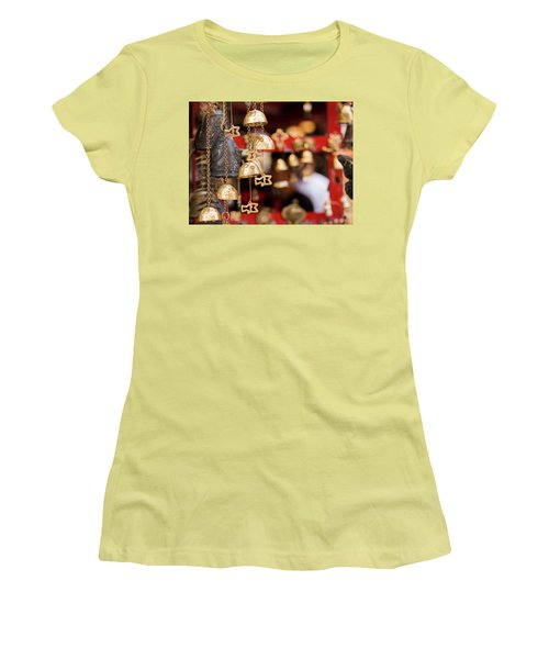 Chime Bell Women's T-Shirt (Athletic Fit)