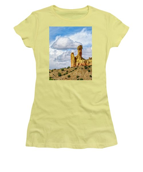 Chimney Rock  Women's T-Shirt (Junior Cut) by Robert FERD Frank