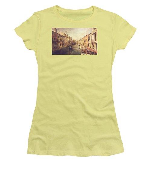 Chioggia Women's T-Shirt (Junior Cut) by Vittorio Chiampan