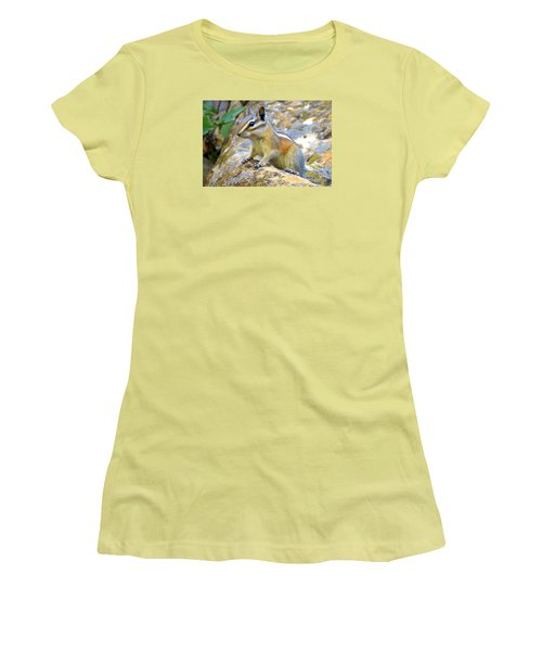 Chipmunk Women's T-Shirt (Athletic Fit)