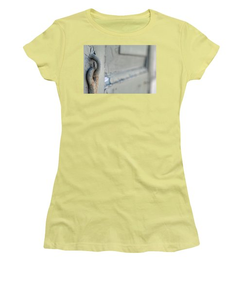 Chipped Latch Women's T-Shirt (Athletic Fit)