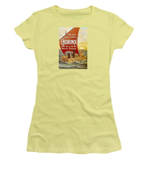 Chlorinol Women's T-Shirt (Athletic Fit)