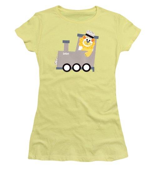 Choo Choo T-shirt Women's T-Shirt (Junior Cut) by Herb Strobino