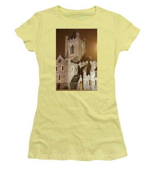 Christ Church Dublin Ireland Women's T-Shirt (Junior Cut) by Henri Irizarri