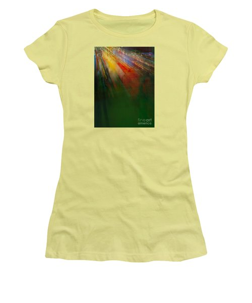 Christmas Abstract Women's T-Shirt (Athletic Fit)