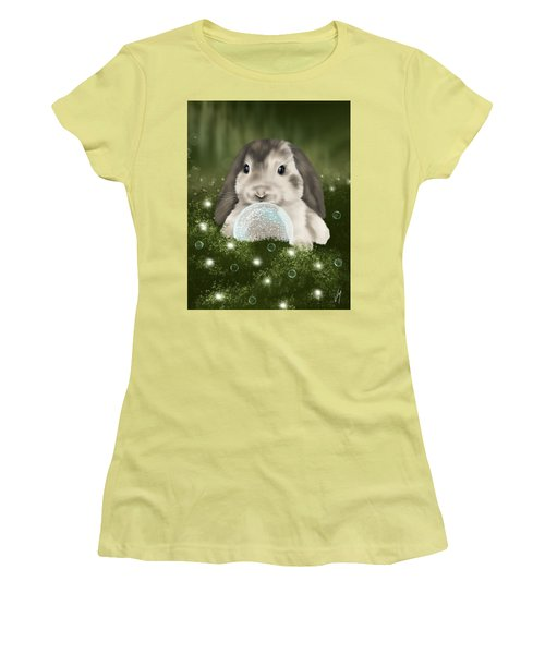 Women's T-Shirt (Junior Cut) featuring the painting Christmas Decoration  by Veronica Minozzi