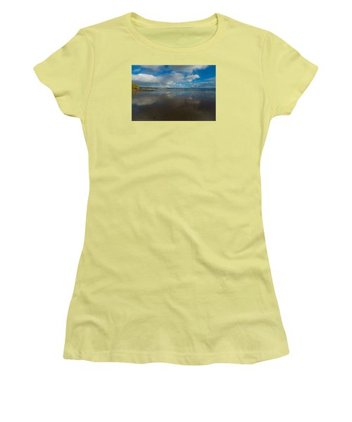 Women's T-Shirt (Junior Cut) featuring the photograph Christmas Eve Early Gifts by Lora Lee Chapman