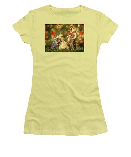 Christmas Nativity Women's T-Shirt (Athletic Fit)