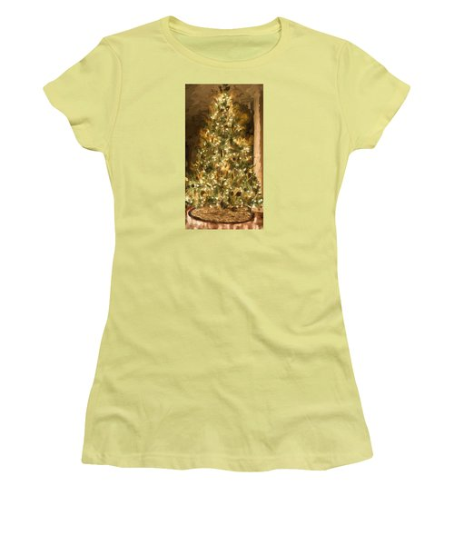 Christmas Tree Women's T-Shirt (Athletic Fit)