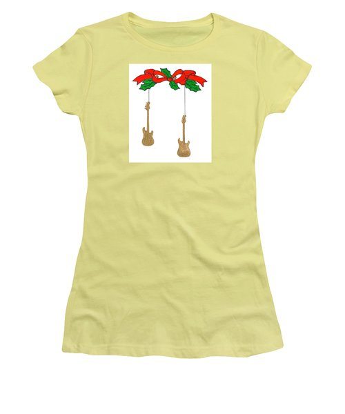 Christmas3 Women's T-Shirt (Athletic Fit)