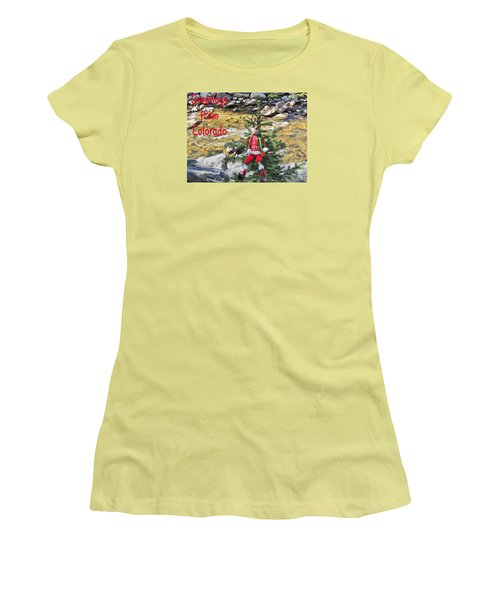 Chumps Christmas Women's T-Shirt (Athletic Fit)