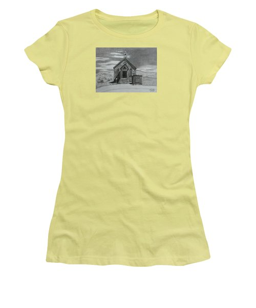 Church  At Bodie  Women's T-Shirt (Athletic Fit)