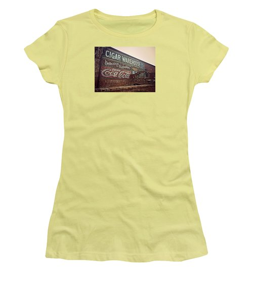 Cigar Warehouse Greenville Sc Women's T-Shirt (Athletic Fit)