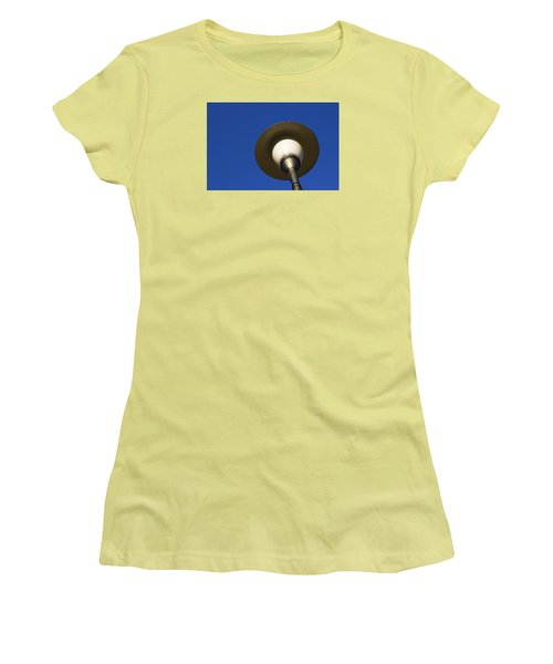 Women's T-Shirt (Junior Cut) featuring the photograph Circle And Blues by Prakash Ghai
