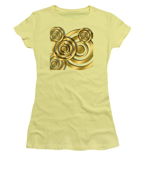 Circles - Chuck Staley Design Women's T-Shirt (Athletic Fit)
