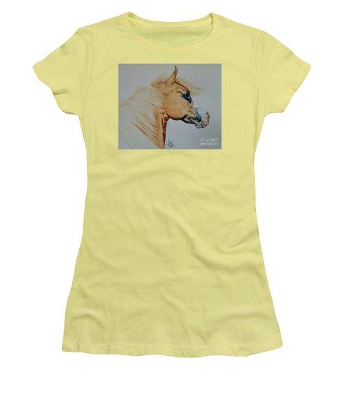 Palomino Paint - Cisco Women's T-Shirt (Junior Cut) by Cheryl Poland