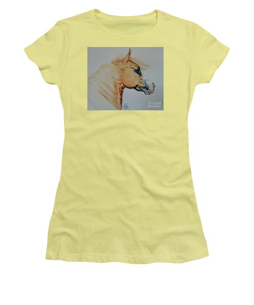 Palomino Paint - Cisco Women's T-Shirt (Athletic Fit)